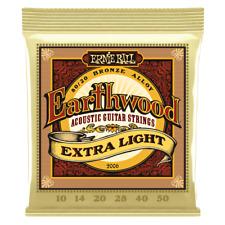 Ernie Ball 2006 Earthwood Extra Light 80/20 Bronze Acoustic Guitar Strings