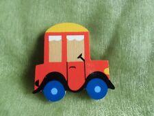 Kinderbrosche - Anstecker - Holz farbig - Mertenskunst