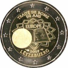 2 EURO COMMEMORATIVE LUXEMBOURG 2007 Traite de Rome - UNC