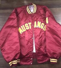 Vintage Mustangs Bomber Jacket Mens 3Xl