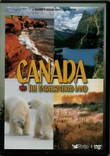 Canada The Undiscovered Land  RARE OOP ORIG Reader's Digest 3 DVD Set (New!)