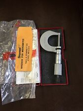 Starrett Micrometer 0 25mm V230mrl New