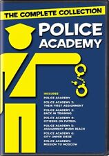 POLICE ACADEMY COMPLETE COLLECTION New Sealed DVD All 7 Films 1 2 3 4 5 6 7
