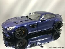 GT Spirit Mercedes Benz AMG GT S Coupe C150 Modified by Prior Design Blue 1:18