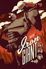 MONDO Tom Whalen Iron Giant Screen Print Art Poster Disney #37/40 AP Edition
