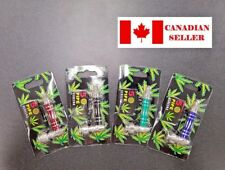 Metal Smoking Pipe, 5 Extra Screens, Dry Herb.NEW. Canadian Seller!