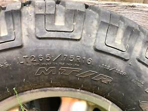 Land Rover Discovery 2 rims and tyres - 5 total