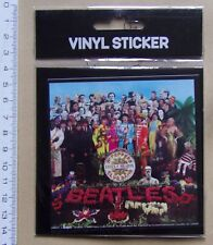 #) sticker vynil BEATLES SGT PEPPERS CLUB BAND LONELY HEARTS - modèle n° 2