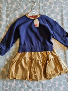 Mini Boden girls dress age 3-4