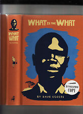 WHAT IS THE WHAT-D.EGGERS-SIGNED LIKE NEW 1ST/2ND STATE 2006 HB RARE COLLECTIBLE
