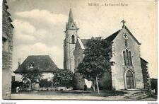 CPA-Carte postale  France-Mépieu - La Place et l'Eglise (CPV1042)