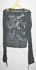 VINTAGE EARLY 80s BOY LONDON SEDITIONARIES VIVE LE ROCK MUSLIN SHIRT SEX PISTOLS