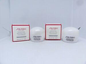 LOT/2 SHISEIDO Essential Energy Moisturizing Cream~0.35 OZ./ 10mL EACH ~ BNIB