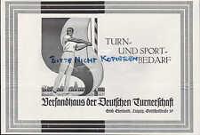 LEIPZIG, Werbung 1928, Erich Eberhardt Versandhaus der Deutschen Turnerschaft