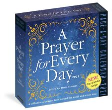 PRAYER FOR EVERY DAY - 2021 DAILY DESK CALENDAR - BRAND NEW - 100836