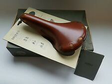Vintage Brooks Professional Leather Bicycle Bike Seat Saddle with Box Never Used