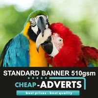 Full Colour Outdoor Printed PVC Banner - 8ft x 2ft Free Design !!!