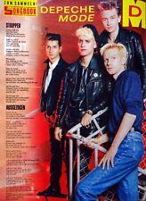 Depeche Mode BRAVO Seite 80er Songbook 1986 - 13 Stripped