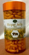 Nature's King Royal Jelly 1000mg 365 Capsules 100% Australia Made Great Quality