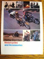1975 Harley-Davidson Motorcycles Accessory Accessories Brochure, Original 75