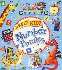 Whizz Kidz: Number Puzzles (Whizz Kidz 32pp), William Potter, Like New, Paperbac