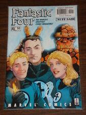 FANTASTIC FOUR #50 VOL3 MARVEL COMICS FF THING FEBRUARY 2002