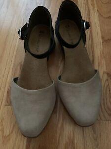 el naturalista 39, tan and black, Mary Jane, flat sandal, shoe