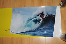 Bruce Irons 14x48in. Vinyl Shop Display Surfing Poster