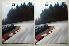 2 Prospekte / brochures BMW E46 M3 CSL, 1.2003, 16 Seiten, english - take two !