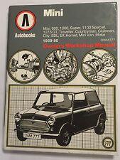 BMC MINI AUTOBOOKS WORKSHOP MANUAL SDL SUPER 1000 1100 1275GT + MOKE 1959-1980