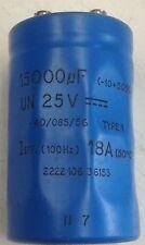 Condensatore 15000uF 25Vdc
