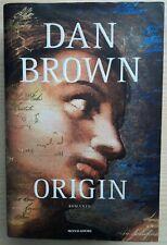 ORIGIN - DAN BROWN - MONDADORI - 2017