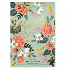 Rifle Paper Company - Mint Birch Monarch Notepad - Letter Size