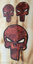 Special Rusty Set 3teilig Edelrost Ratte Oldschool Aufkleber Punisher Retro