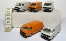 Wiking 1:87 VW T3 Transporter orange grau OPS OVP 290   5 Stück im Händlerkarton