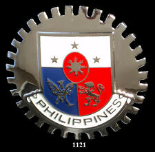 CAR GRILLE EMBLEM BADGES - PHILIPPINES(CREST)
