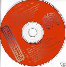 Sound Check PROMO CD LOS LOBOS Tora Tora SOUP DRAGONS
