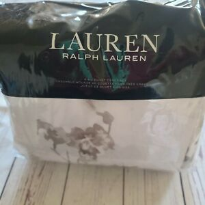 Ralph Lauren Flora 3-Pc. Cotton King Duvet Cover Set RL-163