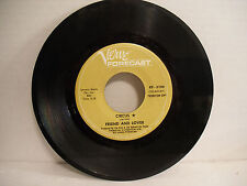 Friend & Lover, Circus / I Want To Be Free, Verve Forecast KF 5100, 1969 Psych