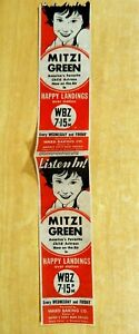 1933 Bread Label Ward Baking Co. MITZI GREEN in HAPPY LANDINGS WBZ Radio Boston