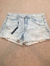 """Blank NYC The """"Hiker"""" Denim Distressed Light Fade Shorts Size 31 NWT"""