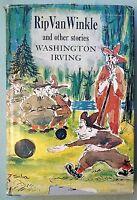 RIP VAN WINKLE Washington Irvine Susanne Suba 1955 vintage 1950s children's book