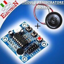 Modulo Registratore Riproduzione Vocale ISD1820 +Microfono Audio sound recording