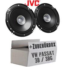JVC Lautsprecher für VW Passat 3B/3BG 16cm Auto 300W Koaxe Boxen KFZ Einbauset