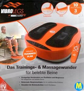 VibroLegs Vibro Legs Vibrationsplatte Fußmassage Beinmassage Fernbedienung B-War