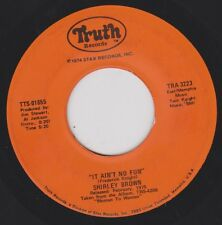 SHIRLEY BROWN {70s Southern Soul} It Ain't No Fun / I've Got To Go On ♫HEAR