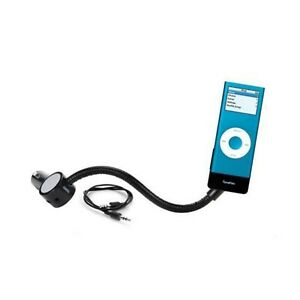 GRIFFIN TUNEFLEX AUX CHARGE PLAY FOR IPOD NANO 2ND GEN BLACK NEW 9556-NTFLXAUX