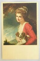 Vintage Photograph Lady Hamilton- Nature by George Romney Frick Postcard NYC