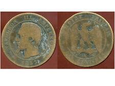 FRANCE  FRANCIA   10 centimes NAPOLEON III   1853 A  (1)