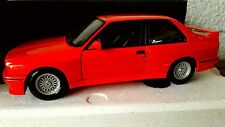 BMW COUPE SERIE 3 - M3 E30 200CH ROUGE MINICHAMPS 1/18 FIRST EDITION